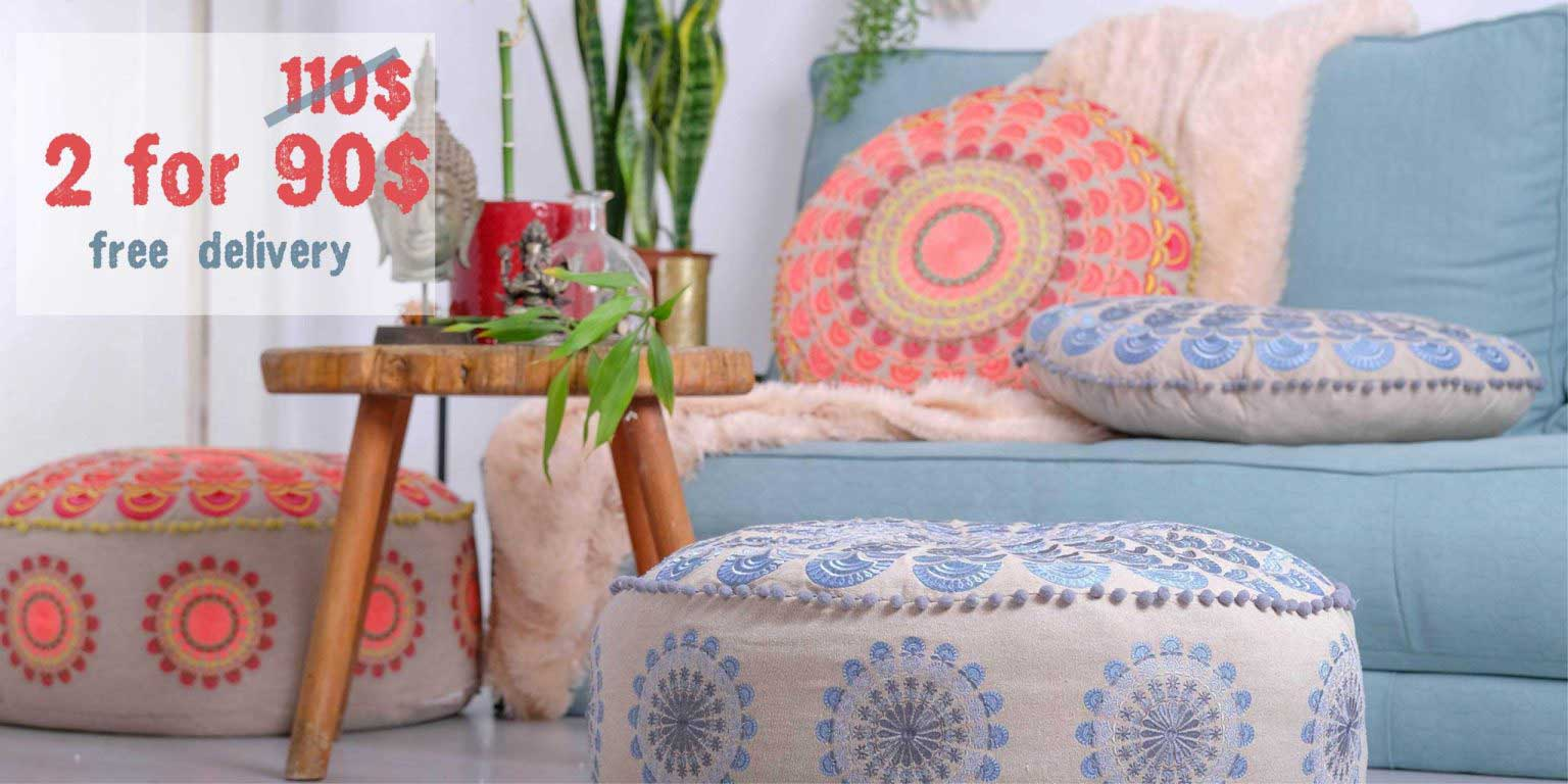 Bohemian Cushions Sale Deal Combo