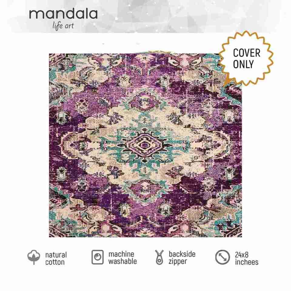 Bohemian Decor Floor Cushion Pouf Carpet Floor Pillow Boho Chic Large Living Room Bedroom chidren room 33