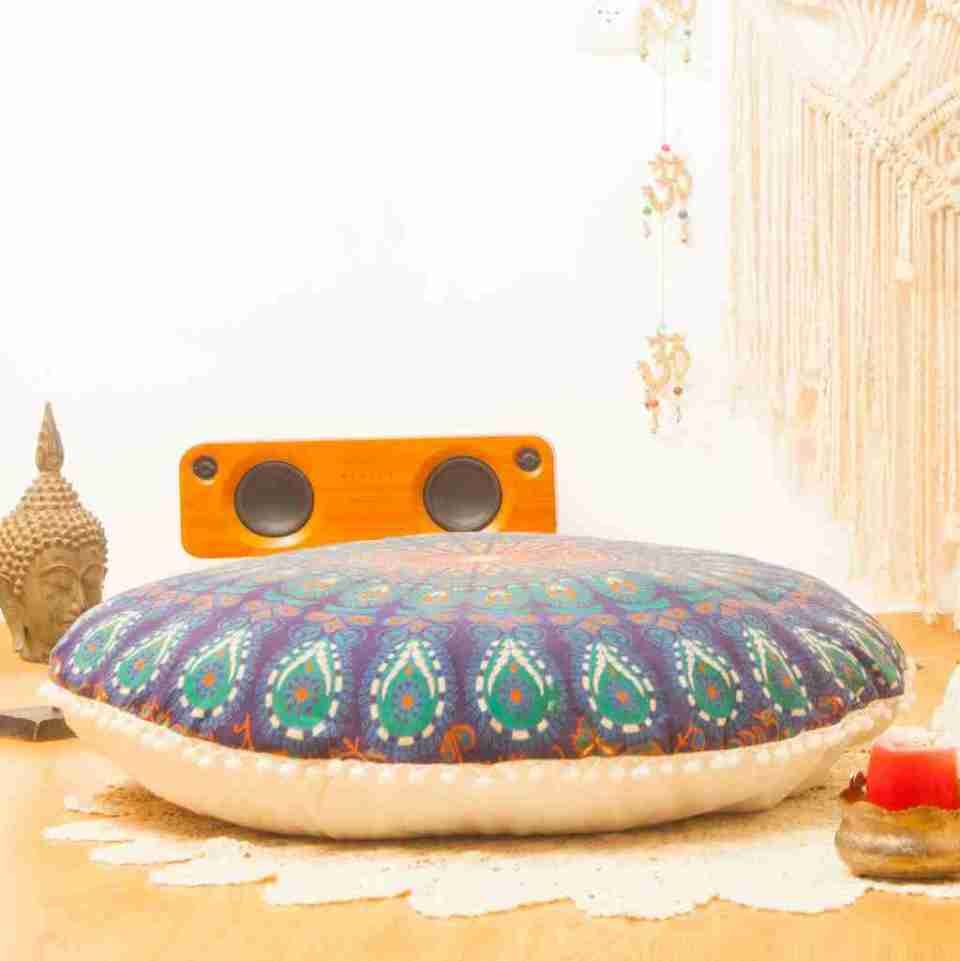 bohemian floor pillow mandala round cushion pouf 20