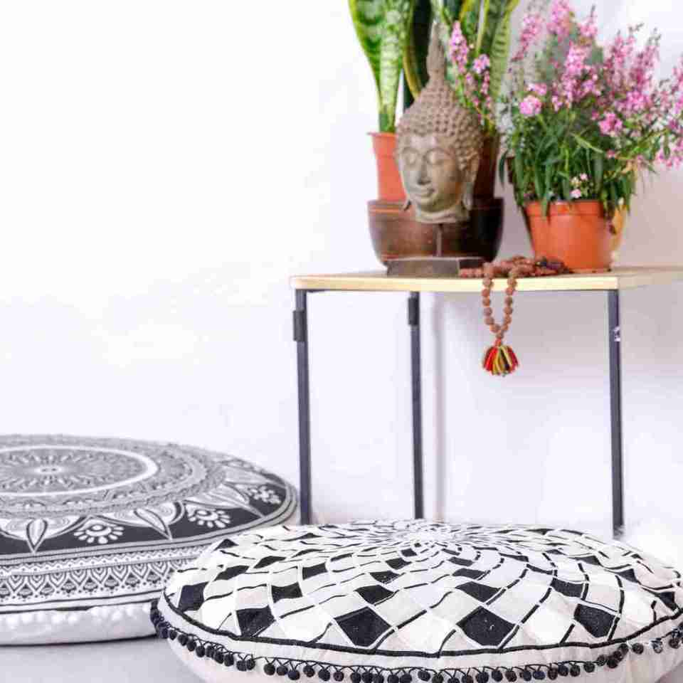boho chic floor pillow mandala 3