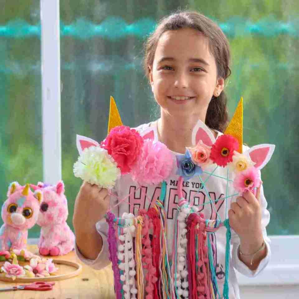 Unicorn DIY Dream Catcher Kit