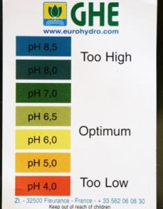 Cannabis requires  ph range around the neutral value of so that it can assimilate nutrients from growing medium in any cultivation also water and rh mandalaseeds