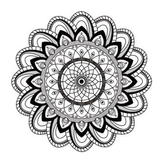 Mandala Floral Loto