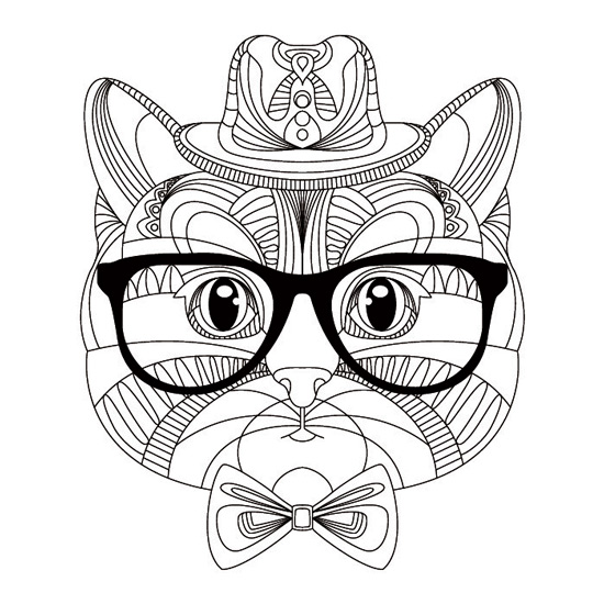 mandala gato