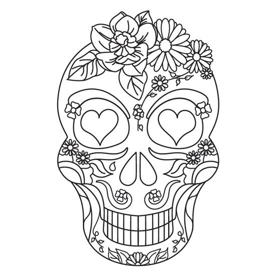 Mandala La Catrina Mexicana Wwwimagenesmicom