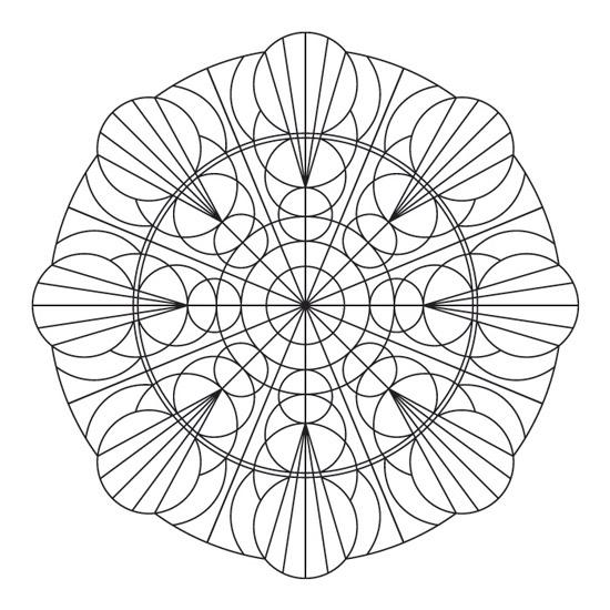 mandala de círculos
