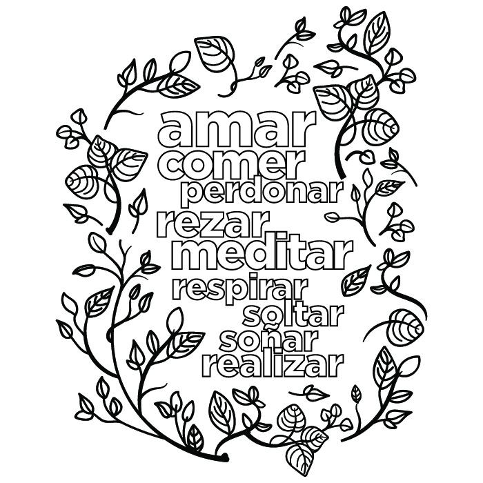 Mandala Con Frase Motivacional Para Imprimir Pdf Y Jpg Gratis