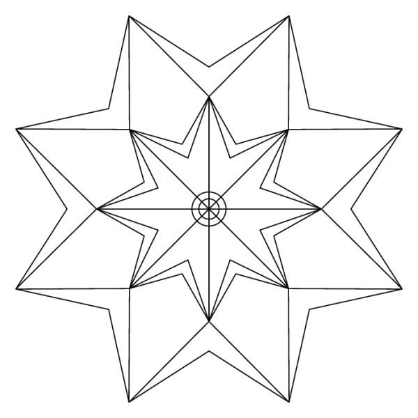 mandala de estrella