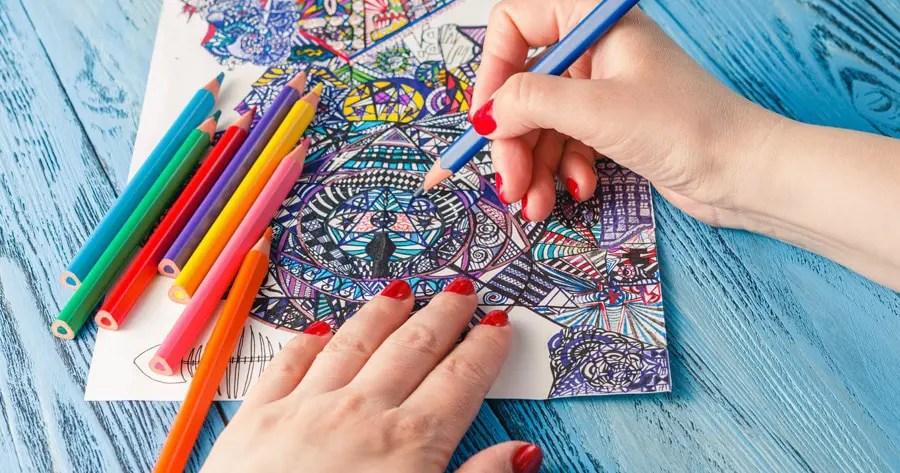 Cómo elegir colores para colorear mandalas