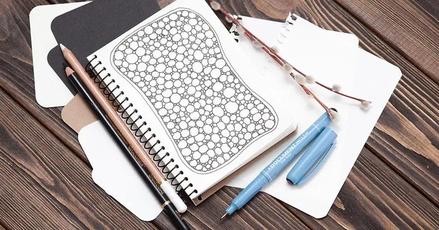 Qué es el zentangle art