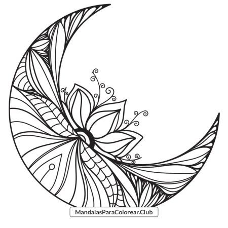 Mandala de Luna