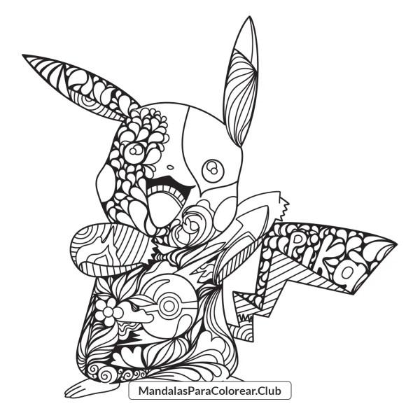 Mandala de Pikachu