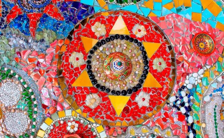 Mandala en Cerámica