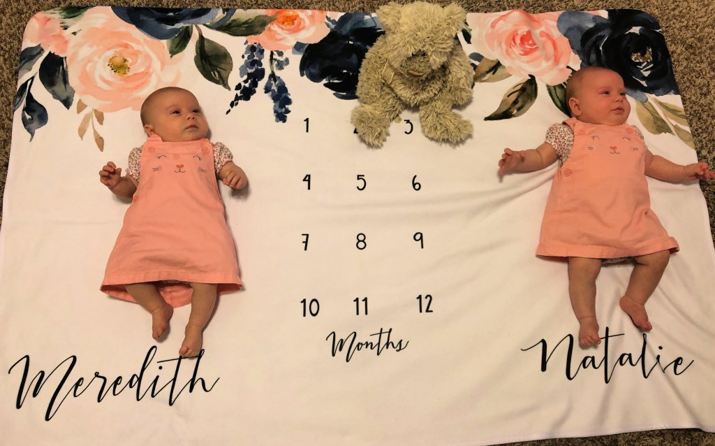 Identical Twins Monthly Update - 3 Months - www.mandamorgan.com