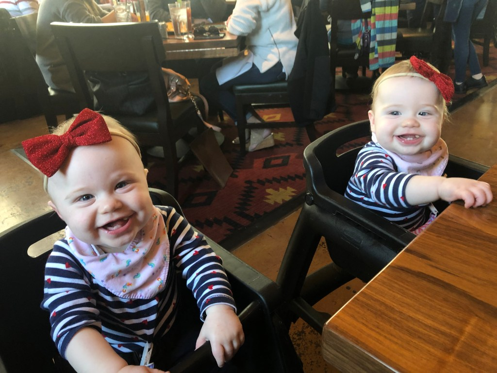 Identical Twins Monthly Update - Eleven Months - www.mandamorgan.com