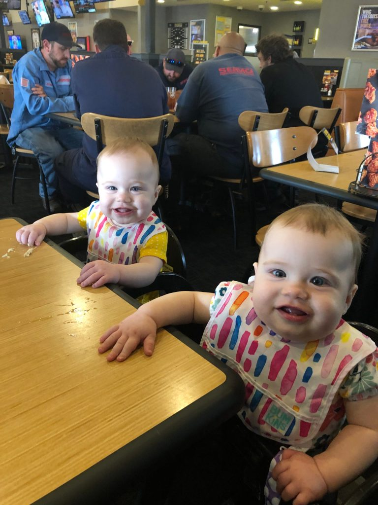 Identical Twins Monthly Update - 11 Months - www.mandamorgan.com