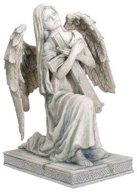 Angel Of Faith Figurine  Lofiel  Mandarava Gifts for the