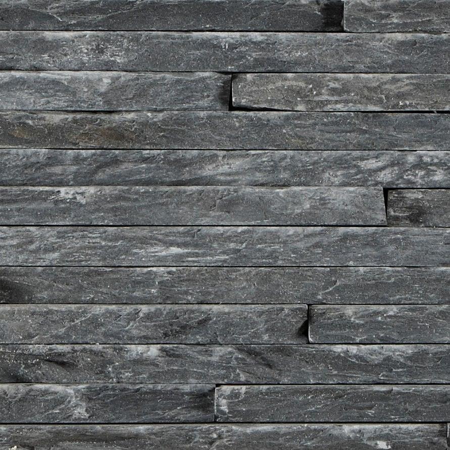 black mini splitface slate tile mandarin stone