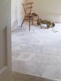 Silver Tumbled Travertine Tile   Mandarin Stone