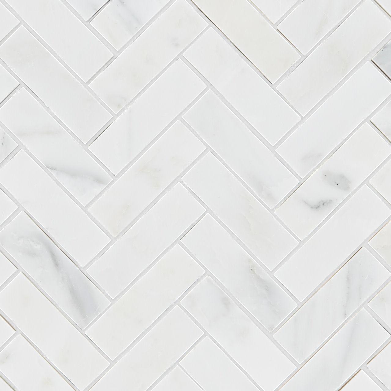alsace honed marble herringbone mosaic tile mandarin stone