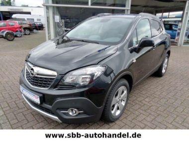 NOUVEAU +++ Opel Voiture d'occasion: Opel Mokka 1.6 CDTI Cosmo*Leder*Navi*SHZ*PDC*AGR Si für 19975 € +++ Les meilleures offres | 4x4, 22300 km, 2015, Diesel, 136 CV, Noir | 137617910 | auto.de
