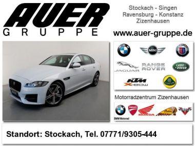 NOUVEAU +++ Jaguar Voiture d'occasion: Jaguar XF 20d R-Sport Limousine (Navi Leder Klima  für 44990 € +++ Les meilleures offres | Berline, 15000 km, 2016, Diesel, 179 CV, Blanc | 131107109 | auto.de