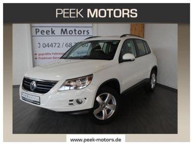 NOUVEAU +++ VW Voiture d'occasion: VW Tiguan 2.0 TDI DPF AHK Navi Xenon Panoramadach für 15190 € +++ Les meilleures offres | 4x4, 76300 km, 2007, Diesel, 140 CV, Blanc | 135525275 | auto.de