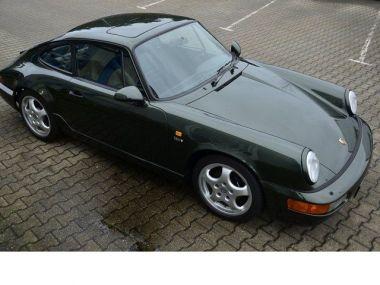 NOUVEAU +++ Porsche Voiture d'occasion: Porsche Carrera 911  2 in OAKGRÜN !! Leder schwarz ! für 69890 € +++ Les meilleures offres | Coupé, 99310 km, 1991, Essence, 250 CV, Autre | 133524232 | auto.de