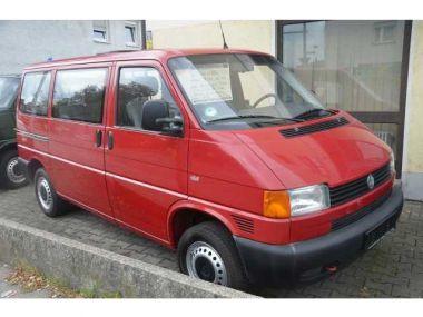 NOUVEAU +++ VW Voiture d'occasion: VW T4 Bus Kombi 2.5Benziner für 8590 € +++ Les meilleures offres | Minibus/Monospace, 186500 km, 1999, Essence, 116 CV, Rouge | 131309130 | auto.de