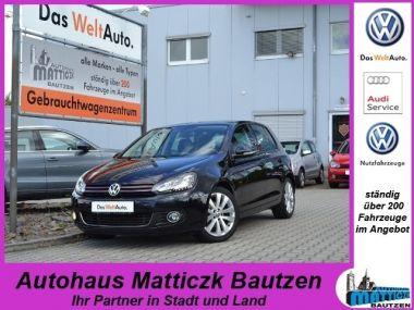 NOUVEAU +++ VW Voiture d'occasion: VW Golf Plus Golf VI 1.4 TSI STYLE-PLUS/XENON/SCHIEBE für 13459 € +++ Les meilleures offres | Berline, 61415 km, 2011, Essence, 122 CV, Noir | 131424831 | auto.de