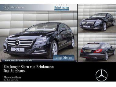 NOUVEAU +++ Mercedes-Benz Voiture d'occasion: Mercedes-Benz CLS 350 CDI 4MATIC BlueEFFICIENCY Shooting Brake für 44850 € +++ Les meilleures offres | Berline, 66000 km, 2014, Diesel, 265 CV, Noir | 134560385 | auto.de