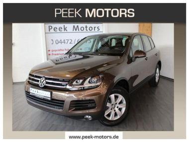 NOUVEAU +++ VW Voiture d'occasion: VW Touareg 3.0 TDI V6 Navi Xenon Leder Panoramadach für 38790 € +++ Les meilleures offres   4x4, 22200 km, 2014, Diesel, 204 CV, Brun   136436879   auto.de