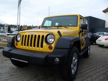 NOUVEAU +++ Jeep Voiture d'occasion: Jeep Wrangler Rubicon 2.8 CRD Handschalter *Webasto*Fr für 21990 € +++ Les meilleures offres | Autres, 115000 km, 2009, Diesel, 177 CV, Jaune | 137617828 | auto.de