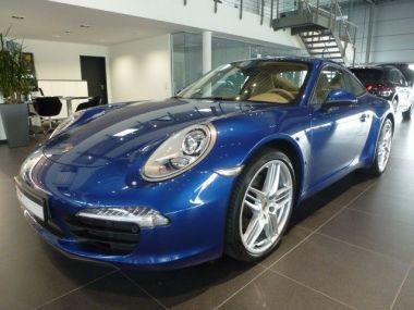 NOUVEAU +++ Porsche Voiture d'occasion: Porsche Carrera 991  Coupe Leder Xenon Navi Alarm Klimaa für 72900 € +++ Les meilleures offres | Coupé, 21800 km, 2012, Essence, 349 CV, Bleu | 134989304 | auto.de
