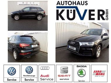 NOUVEAU +++ Audi Voiture d'occasion: Audi Q3 2,0 TDI Quattro S-Tronic Navi Panorama für 33850 € +++ Les meilleures offres | 4x4, 14800 km, 2016, Diesel, 150 CV, Noir | 137631947 | auto.de