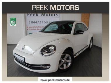 NOUVEAU +++ VW Voiture d'occasion: VW New Beetle 2.0 TSI DSG Sport Xenon Panoramadach Nav für 16190 € +++ Les meilleures offres   Berline, 63700 km, 2013, Essence, 200 CV, Blanc   135236697   auto.de