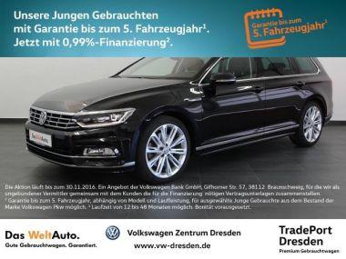NOUVEAU +++ VW Voiture d'occasion: VW Passat Variant R-LINE NAV DCC ACC STH LED AHK T für 44950 € +++ Les meilleures offres | Break, 30000 km, 2015, Diesel, 239 CV, Noir | 135470260 | auto.de