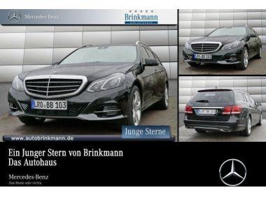 NOUVEAU +++ Mercedes-Benz Voiture d'occasion: Mercedes-Benz E 200 BlueEFFICIENCY T-Modell Elegance Navi/LE für 36780 € +++ Les meilleures offres | Break, 11500 km, 2016, Essence, 184 CV, Noir | 133708128 | auto.de