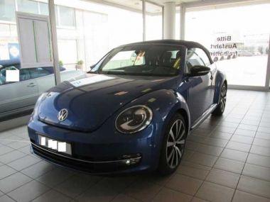 NOUVEAU +++ VW Voiture d'occasion: VW New Beetle Cabrio Beetle Cabrio DSG Cabriolet/Exclusive Sp für 29990 € +++ Les meilleures offres | Cabriolet/Décapotable, 15000 km, 2014, Essence, 211 CV, Bleu | 132893562 | auto.de