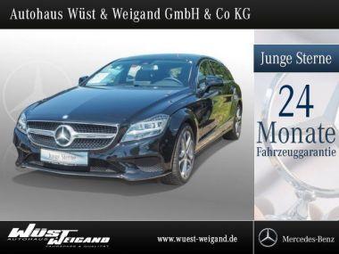 NOUVEAU +++ Mercedes-Benz Voiture d'occasion: Mercedes-Benz CLS 350 d Shooting Brake SHD/NAVI/Sportpaket für 47990 € +++ Les meilleures offres | Berline, 25600 km, 2015, Diesel, 258 CV, Noir | 135651606 | auto.de