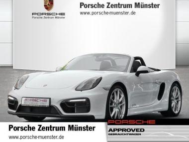 NOUVEAU +++ Porsche Voiture d'occasion: Porsche Boxster GTS für 90202 € +++ Les meilleures offres   Cabriolet/Décapotable, 10700 km, 2015, Essence, 330 CV, Blanc   136828107   auto.de