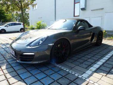 NOUVEAU +++ Porsche Voiture d'occasion: Porsche Boxster CARGRAPHIC für 46800 € +++ Les meilleures offres   Cabriolet/Décapotable, 29800 km, 2012, Essence, 265 CV, Noir   136742293   auto.de