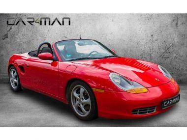 NOUVEAU +++ Porsche Voiture d'occasion: Porsche Boxster 150 kW (204 PS), Schalt. 5-Gang, Heckant für 8900 € +++ Les meilleures offres   Cabriolet/Décapotable, 150000 km, 1998, Essence, 204 CV, Rouge   138003266   auto.de