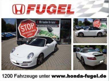 NOUVEAU +++ Porsche Voiture d'occasion: Porsche Carrera 911  S Klappenauspuff/Inspek.+ Reifen NE für 49000 € +++ Les meilleures offres | Cabriolet/Décapotable, 74000 km, 2007, Essence, 355 CV, Blanc | 136538169 | auto.de