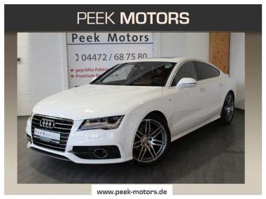 NOUVEAU +++ Audi Voiture d'occasion: Audi A7 3.0 TDI quattro S tronic Luftfahrwerk Bo für 36790 € +++ Les meilleures offres | Berline, 53700 km, 2011, Diesel, 204 CV, Blanc | 138587835 | auto.de