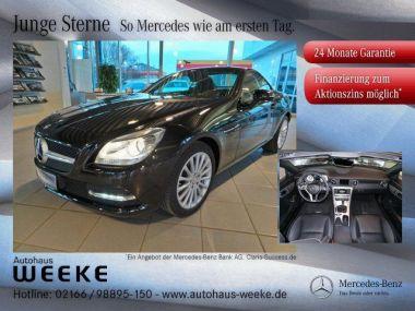 NOUVEAU +++ Mercedes-Benz Voiture d'occasion: Mercedes-Benz SLK 200 Automatik,Navigation,Parktronic,AIRSCARF für 31749 € +++ Les meilleures offres | Cabriolet/Décapotable, 12542 km, 2015, Essence, 184 CV, Noir | 135560346 | auto.de