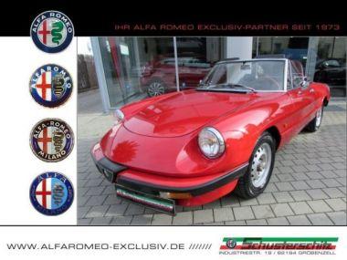 NOUVEAU +++ Alfa Romeo Véhicule ancien: Alfa Romeo Spider 2000 AERODINAMICA TÜV NEU für 8250 € +++ Les meilleures offres | Berline, 141500 km, 1983, Essence, 126 CV, Rouge | 137232480 | auto.de