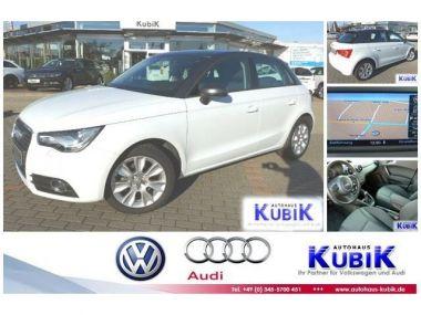NOUVEAU +++ Audi Voiture d'occasion: Audi A1 Sportback TFSI Ambition+MMI® NAVI+Bluet für 17850 € +++ Les meilleures offres | Citadine, 9361 km, 2014, Essence, 86 CV, Blanc | 132394613 | auto.de