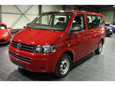 NOUVEAU +++ VW Voiture d'occasion: VW T5 DSG BMT Startline KR 6-Sitzer Klima für 28900 € +++ Les meilleures offres   Minibus/Monospace, 53000 km, 2013, Diesel, 140 CV, Rouge   138436877   auto.de