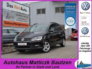 NOUVEAU +++ VW Voiture d'occasion: VW Sharan 2.0 TDI BMT MATCH-PLUS/AHZV/NAVI/PANORAM für 16457 € +++ Les meilleures offres | Minibus/Monospace, 157137 km, 2012, Diesel, 140 CV, Noir | 132368950 | auto.de